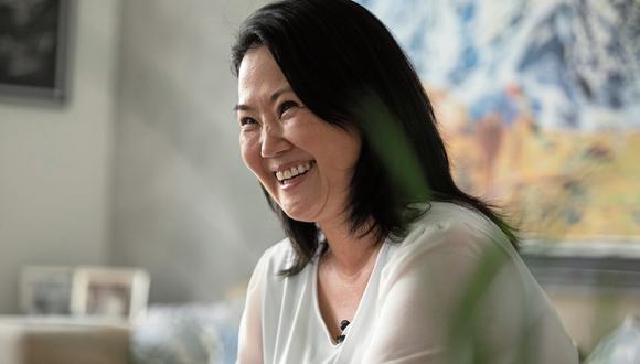 """""""No puede haber educación moderna y eficiente sin un gran salto digital"""", sostuvo Keiko Fujimori. (Foto: GEC)"""
