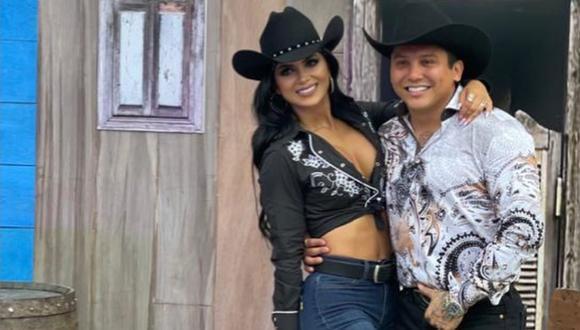 Kimberly Flores y Edwin Luna, una polémica pareja. (Foto: edwinlunat/Instagram)