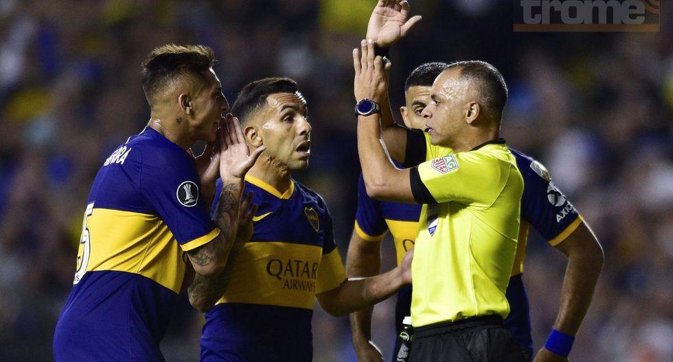 Este fue el gol que le anularon a Boca Juniors en la Bombonera
