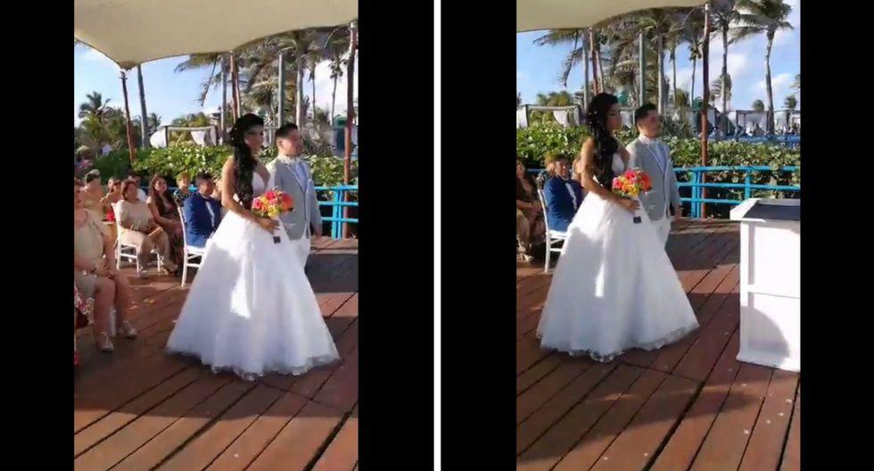 Diana Sánchez y Harold Cortez ahora son marido y mujer. (Captura, Digital TV Perú, Divas en Digital)