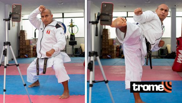 Deportista brinda clases de karate a personas de escasos recursos