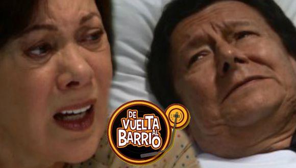 Benigno confiesa a Consuelo que Pancho es su hijo