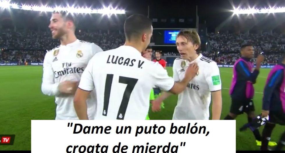 Real Madrid: Lucas Vázquez lanzó frase a Luka Modric y generó polémica tras título del Mundial de Clubes