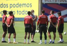 Perú entrenará con pelotas infladas con helio para simular partido ante Bolivia