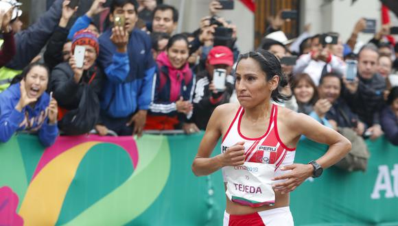 Junín: Gladys Tejada promete llegar motivada y dar el  100% en Tokio (Foto difusión).