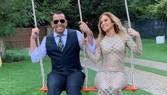 """¿Jennifer Lopez y Álex Rodríguez se casaron en secreto? La Diva del Bronx se refiere al deportista como """"su esposo"""". (Foto: @arod)"""
