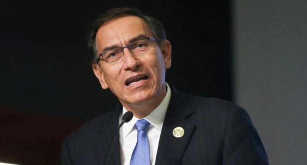 Martín Vizcarra dio conferencia de prensa. (Foto: Presidencial)