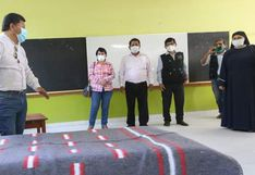 Ica: Albergue para pacientes COVID-19 fue inaugurado en colegio de Palpa