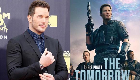 """La guerra del mañana"" es una película protagonizada y producida por el actor Chris Pratt. (Foto: @prattprattpratt/Amazon Prime Video)."