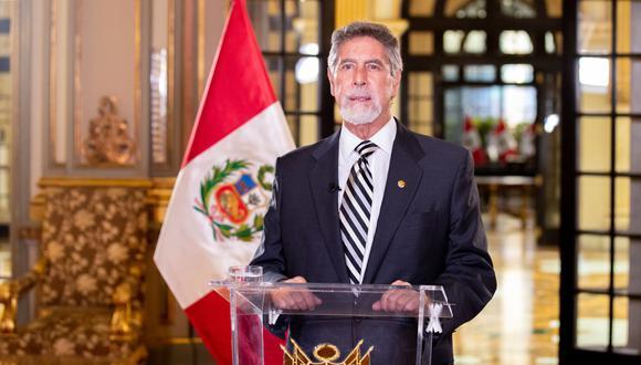 Francisco Sagasti rechazó la carta que fue enviada a las Fuerzas Armadas por oficiales en retiro. (Foto: Presidencia del Perú)