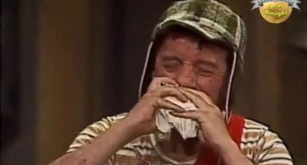 El Chavo del 8 daba lo que sea con tal de comer una torta de jamón.  (Foto: Televisa)