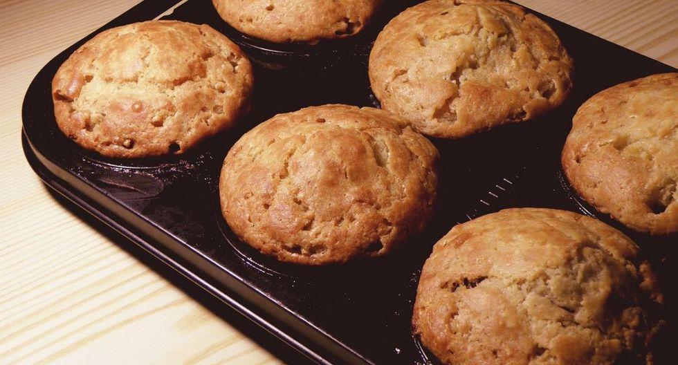 Muffins de vainilla. (Foto: Pixabay)