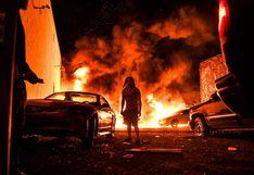 Muerte de George Floyd: hallan cadaver cerca de auto incendiado durante protestas en Minneapolis