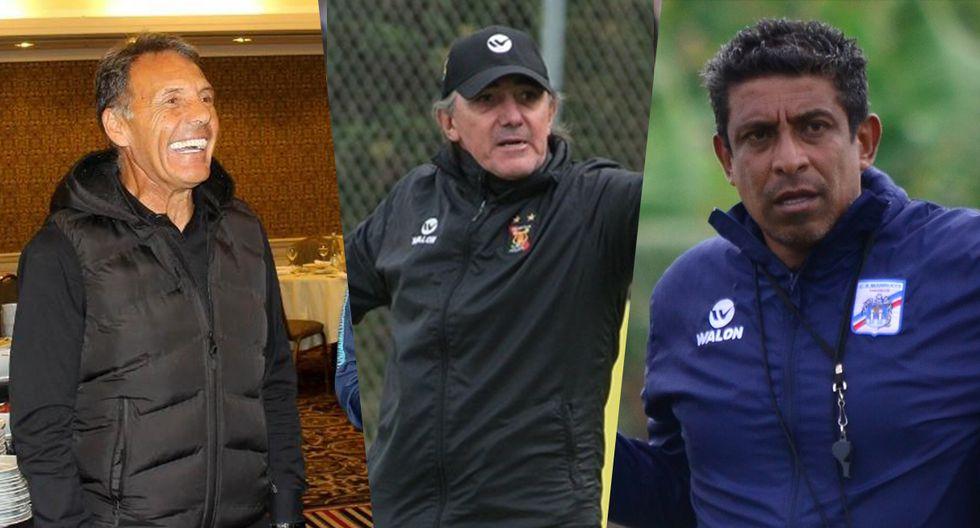 Conoce a los entrenadores de la Liga 1 que dejaron sus puestos. (Fotos: Difusión)