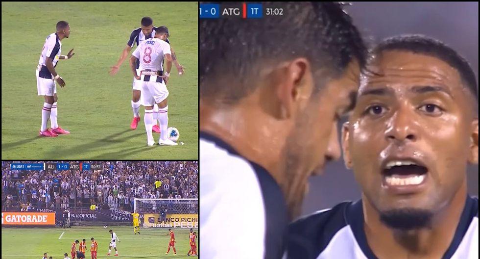 Alianza Lima vs Atlético Grau: Pelea de Alexi Gómez Luis Aguiar en pleno partido que ni Ballón pudo contener