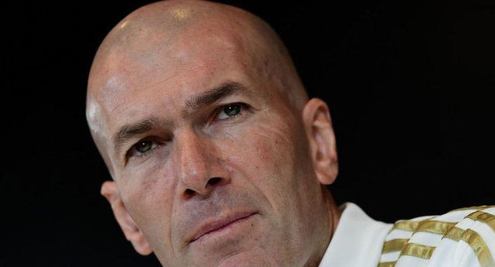 Zinedine Zidane y el XI que manda al Bernabéu. (Fotos: agencias)