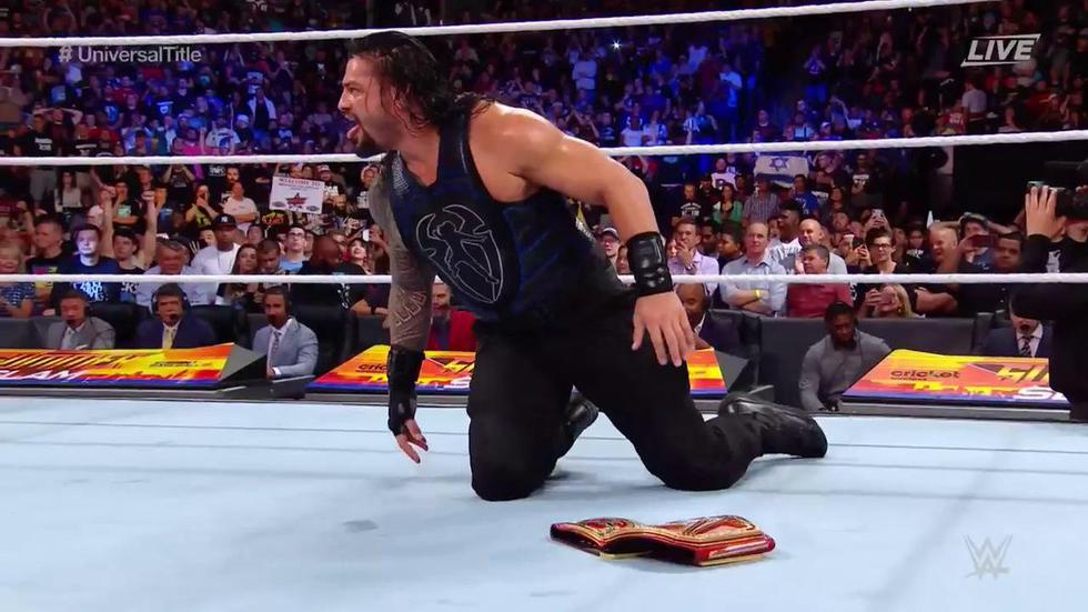 Roman Reigns por fin pudo conseguir una victoria sobre Brock Lesnar (WWE)