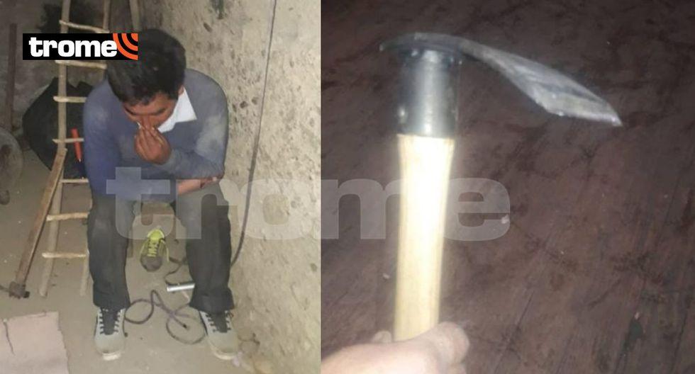 Huancayo: agricultor atacó con una azuela a su conviviente y la deja gravemente herida