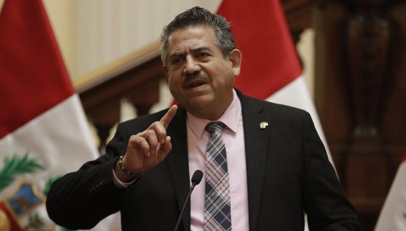 Manuel Merino de Lama solo duró cinco días en el cargo. (GEC)