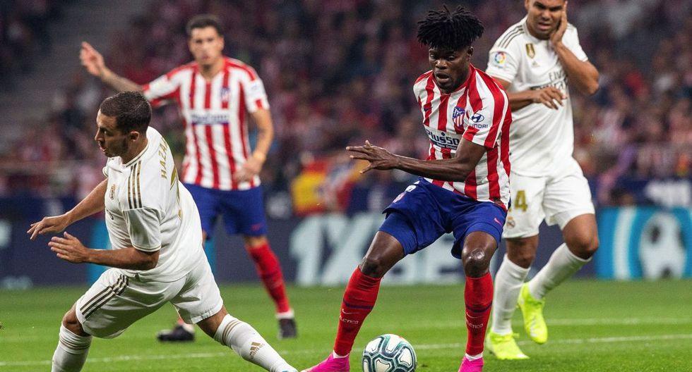 TRANSMISIÓN ONLINE Real Madrid vs Atlético Madrid: