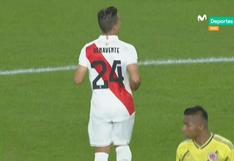 Benavente volvió a jugar por la bicolor tras un año y desató locura en Miami en elPerú vs Colombia