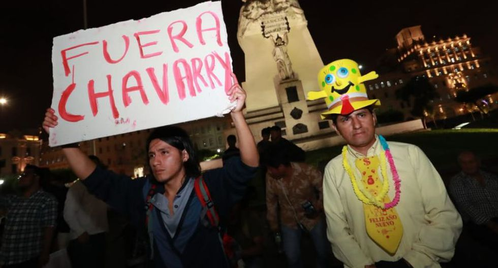 El fiscal de la Nación, Pedro Chávarry, removió a los fiscales Rafael Vela y José Domingo Pérez del Caso Lava Jato. (Foto: GEC/Lino Chipana)