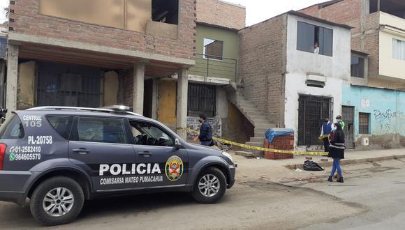 El padre de familia Celso Jesús Ramos Montero (34), fue asesinado a balazos por un sicario disfrazado de indigente. (foto: TROME)