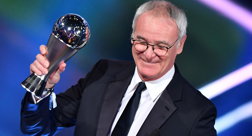 Claudio Ranieri obtuvo el galardón en 2017. (Foto: AFP)