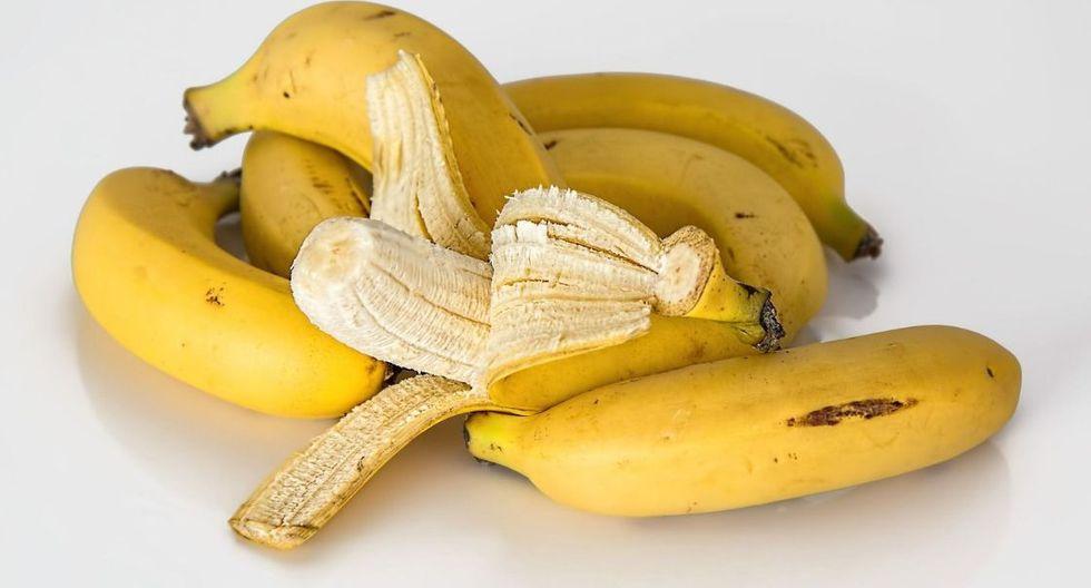 El plátano tiene potasio y es excelente para los calambres. Foto: Pixabay)
