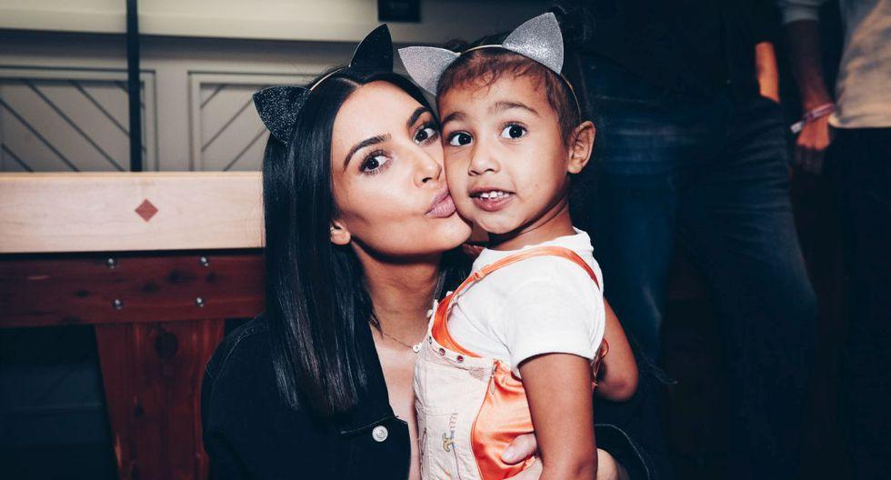 En junio de 2013, Kim Kardashian dio a luz a su primera hija, North West. (Foto: Getty Images)