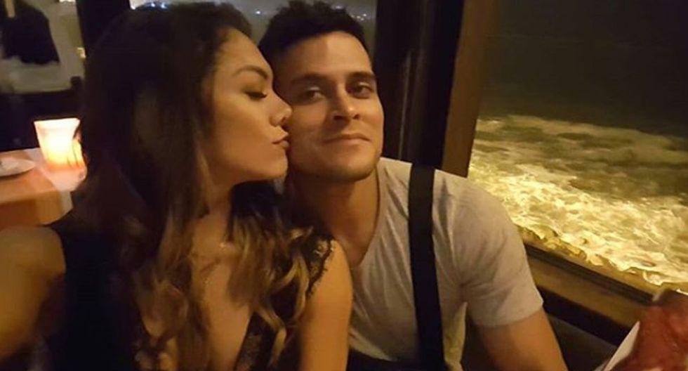 Isabel Acevedo y Christian Domínguez (Instagram)