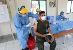 COVID-19: Fuerzas Armadas sería la primera institución en terminar de vacunar a su personal