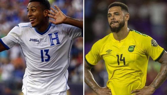 Honduras se enfrenta a Jamaica por las Eliminatorias Qatar 2022. (Foto: EFE/Composición)