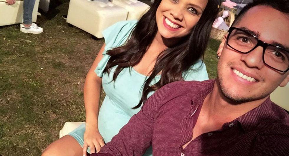Andrea San Martín celebró junto a su expareja el baby shower de su segunda bebé