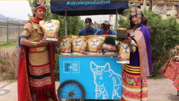 Cusco: Internos presentaron su panetón Inti Raymi y venderán 5 mil unidades este año (Foto: INPE)