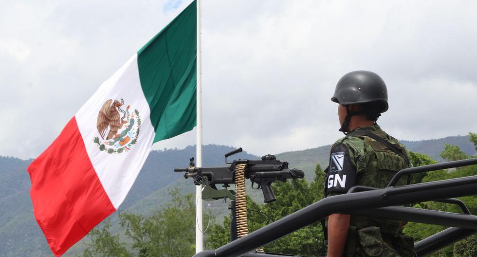 Imagen referencial de agentes de la Guardia Nacional. (Foto: EFE)