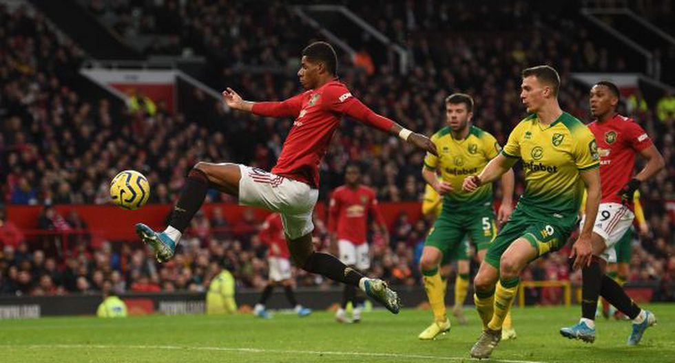 Golazos y doblete de Rashford en el Manchester United vs. Norwich City por la Premier League