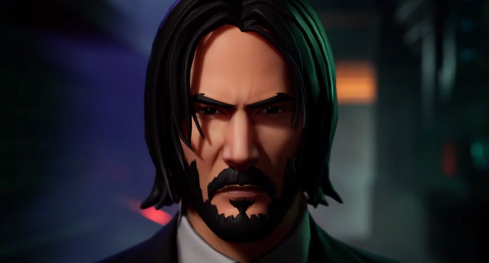 "Fortnite x John Wick: Keanu Reeves llega al Battle Royale de Epic Games por su película ""Parabellum"" (Foto: Epic Games)"