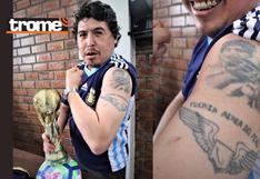 Conoce la historia de Dany Pedemonte: 'Soy más hincha de Maradona que de la selección'