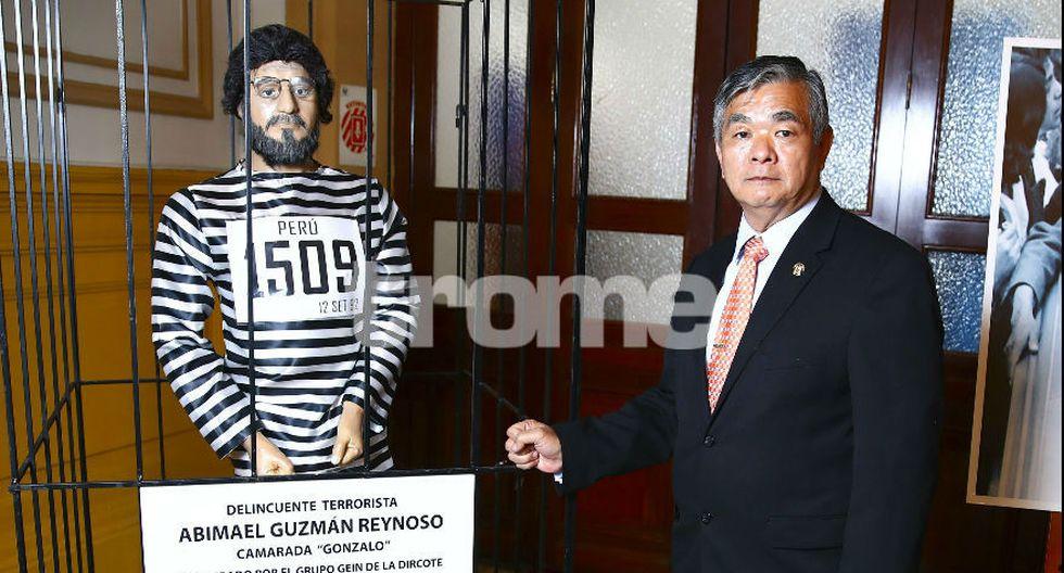 Marco Miyashiro habló, además, del problema de inseguridad ciudadana. (G. Ávila)
