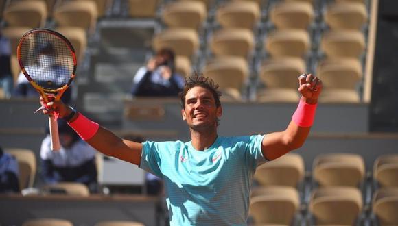 Rafael Nadal avanza como un torbellino a cuartos  de final de Roland  Garros