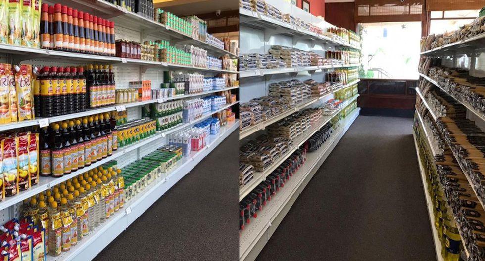 Pastelería San Antonio se reinventa y se convierte en un minimarket durante el estado de emergencia