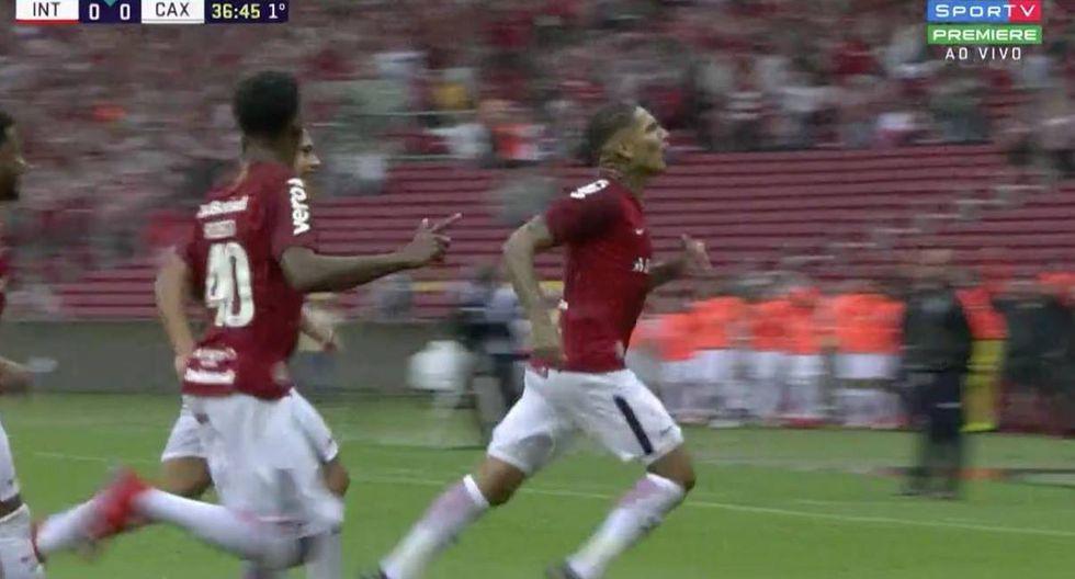 Gol de Paolo Guerrero en Internacional