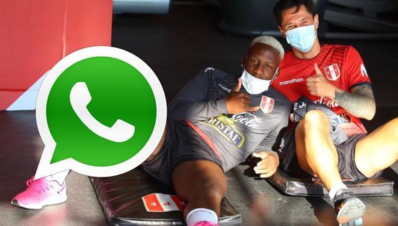 Gianluca Lapadula habló del whatsapp de la selección peruana