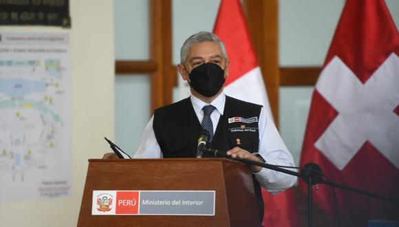 Ministro del Interior informa que no se han registrado decesos ni nuevos contagios por coronavirus en la PNP. Foto: Mininter