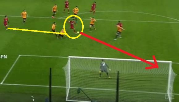 Liverpool vs. Wolverhampton: Gol de Firmino (Video: ESPN) (Trome)