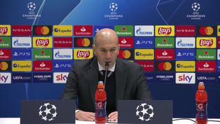 """Así reaccionó Zinedine Zidane tras la victoria del Real Madrid en Champions: """"Nos ha costado pero es un buen resultado"""""""