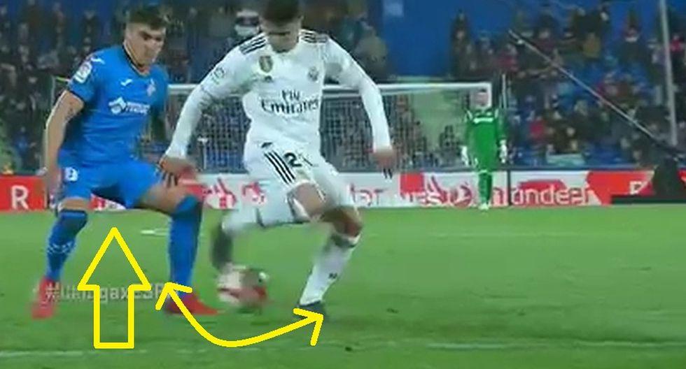 Real Madrid: Joven estrella Brahim Díaz regaló un lujo con ruleta y huacha que humilló a rival de Getafe