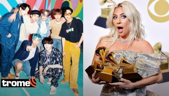 Grammy 2021: BTS pierde su única nominación ante Lady Gaga y Ariana Grande