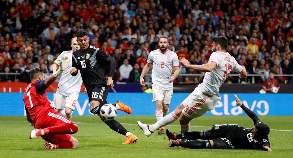 España vs Argentina Partido amistoso
